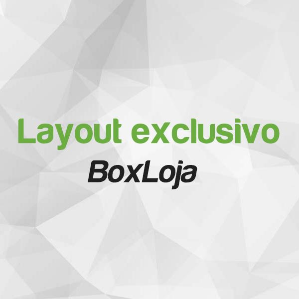 Layout personalizado Box Loja