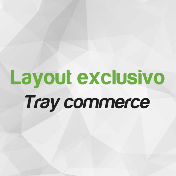 Layout personalizado Tray Commerce