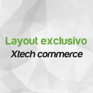 Layout personalizado Xtech Commerce